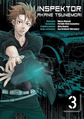 Okładka książki Inspektor Akane Tsunemori #3