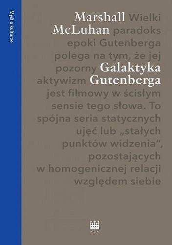 Okładka książki Galaktyka Gutenberga