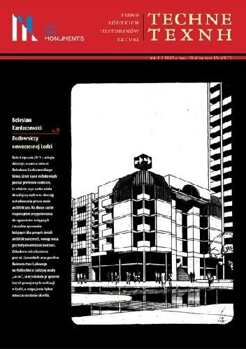 Okładka książki TECHNE/TEXNH – Pismo Łódzkich Historyków Sztuki, nr 1/2012