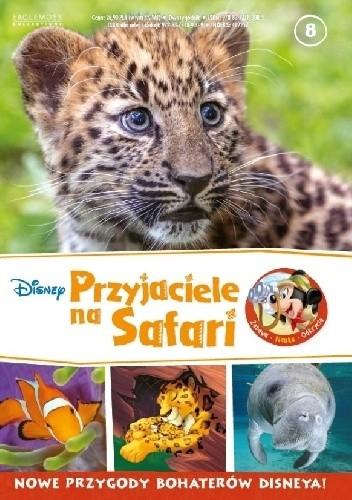 Okładka książki Przyjaciele na Safari. Lamparciątka. Manaty. Błazenki.