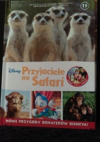 Okładka książki Przyjaciele na Safari. Szympansy. Surykatki. Wieloryby.