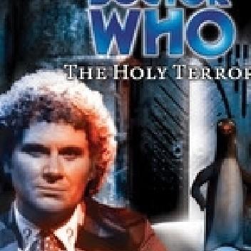 Okładka książki Doctor Who: The Holy Terror