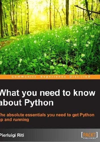 Okładka książki What you need to know about Python