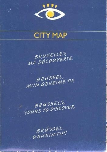 Okładka książki Bruxelles ma découverte. City map