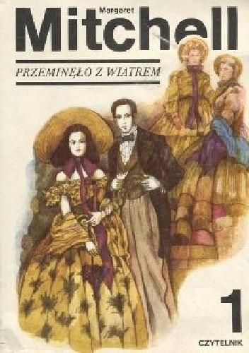 Okładka książki Przemineło z wiatrem tom 1