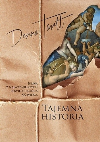 Okładka książki Tajemna historia
