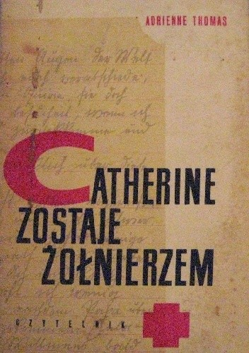 Okładka książki Catherine zostaje żołnierzem