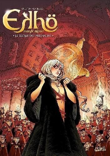Okładka książki Ekho. Lustrzany świat #5 - Sekret Preshaunów