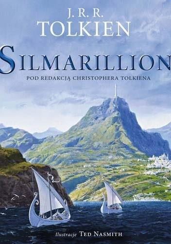 Okładka książki Silmarillion. Wersja ilustrowana
