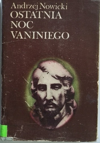 Okładka książki Ostatnia noc Vaniniego
