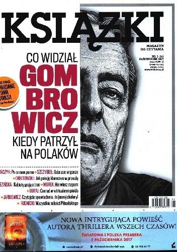 Okładka książki Książki. Magazyn do czytania, nr  3 (26) / październik 2017