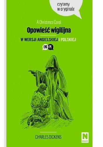 Okładka książki Opowieść wigilijna. Czytamy w oryginale