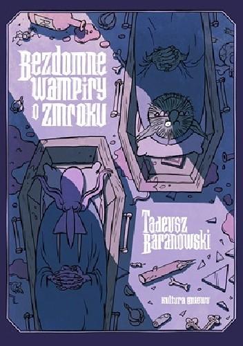 Okładka książki Bezdomne wampiry o zmroku