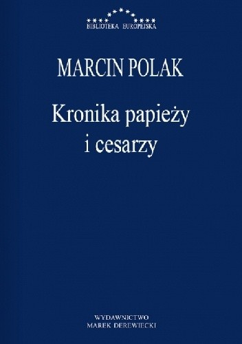 Okładka książki Kronika papieży i cesarzy