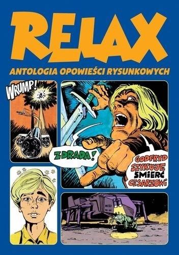 Okładka książki Relax - Antologia opowieści rysunkowych. Tom 2
