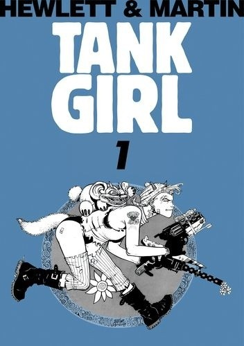 Okładka książki Tank Girl Tom 1