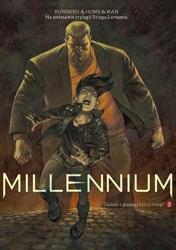 Okładka książki Millennium #03: Zamek z piasku, który runął