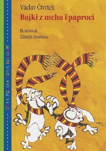 Okładka książki Bajki z mchu i paproci