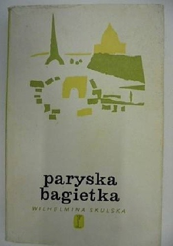 Okładka książki Paryska bagietka