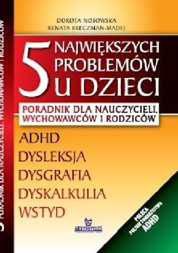 Okładka książki 5 największych problemów u dzieci