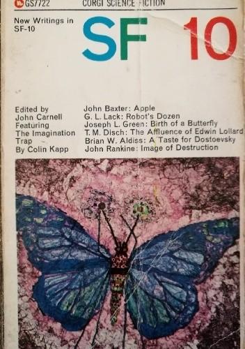 Okładka książki New Writings in SF 10