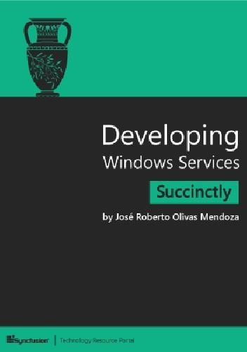 Okładka książki Developing Windows Services Succinctly