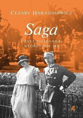 Okładka książki Saga, czyli filiżanka, której nie ma