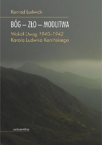 Okładka książki BÓG-ZŁO-MODLITWA