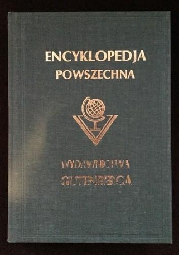 """Okładka książki Wielka ilustrowana encyklopedja powszechna Wydawnictwa """"Gutenberga"""". Tom XII"""