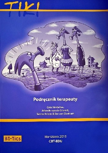 Okładka książki Tiki. Podręcznik terapeuty.