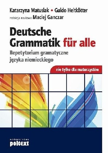 Okładka książki Deutsche Grammatik fur alle