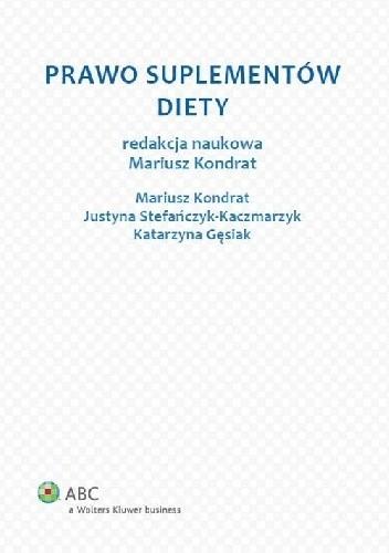 Okładka książki Prawo suplementów diety