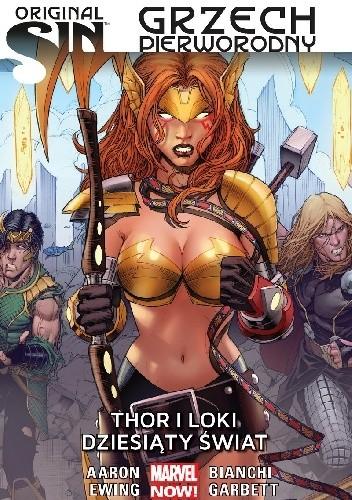 Okładka książki Grzech Pierworodny: Thor i Loki - Dziesiąty Świat