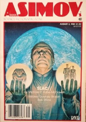 Okładka książki Isaac Asimov's Science Fiction Magazine, August 1981