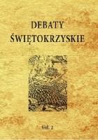 Debaty świętokrzyskie, Vol. 2