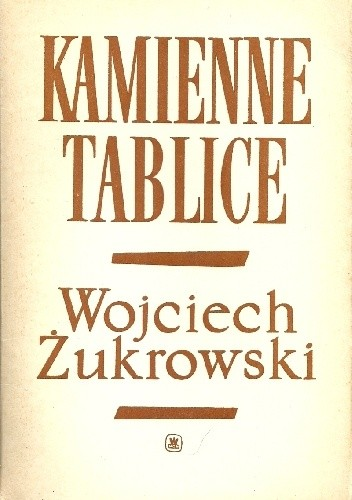Okładka książki Kamienne tablice. Część pierwsza