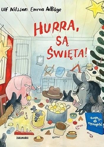 Okładka książki Hurra, są Święta!