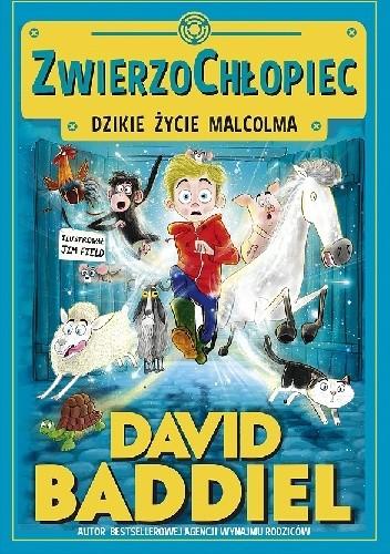 Okładka książki Zwierzochłopiec. Dzikie życie Malcolma.