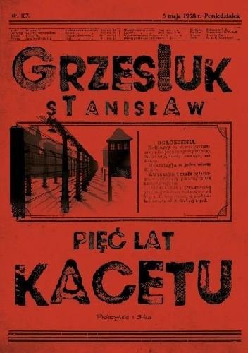 Okładka książki Pięć lat kacetu