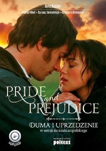 Okładka książki Pride and Prejudice. Duma i uprzedzenie w wersji do nauki angielskiego.