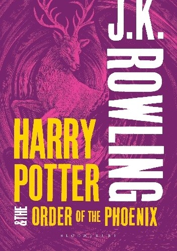 Okładka książki Harry Potter and the Order of the Phoenix (Adult Cover Edition)