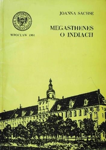 Okładka książki Megasthenes o Indiach