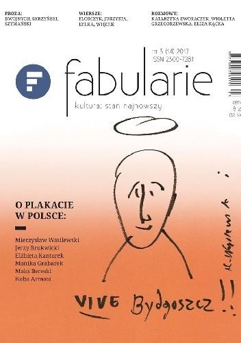 Okładka książki Fabularie nr 3 (14) 2017