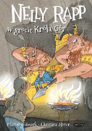 Okładka książki Nelly Rapp w grocie Króla Gór