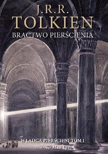 Okładka książki Bractwo pierścienia. Wersja ilustrowana