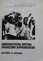 Anarchistyczna krytyka socjalizmu afrykańskiego
