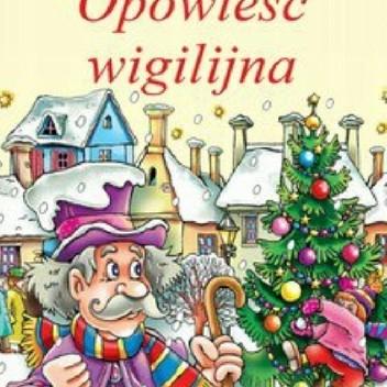 Okładka książki Opowieść wigilijna. Słuchowisko z piosenkami
