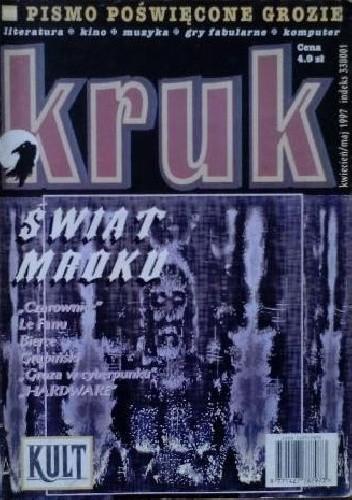 Okładka książki Kruk. Pismo poświęcone grozie, nr 2/1997