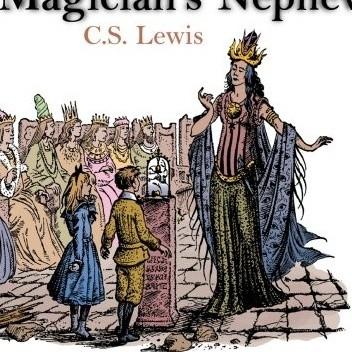 Okładka książki The Magician's Nephew. A BBC Radio 4 Dramatisation
