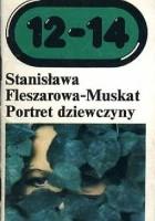 Portret dziewczyny na zielonym tle